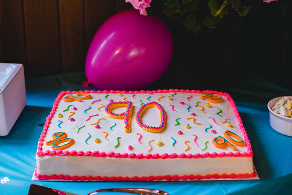 Edie's 90th Birthday Surprise Party